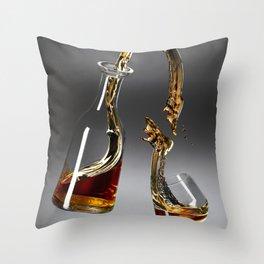 Gravity Scotch Throw Pillow