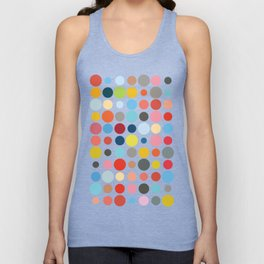 Tangled Up In Colour Unisex Tank Top