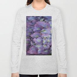 Blue Hydrangea Long Sleeve T-shirt