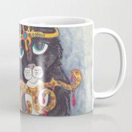 Tuxedo Cat Angel art Coffee Mug
