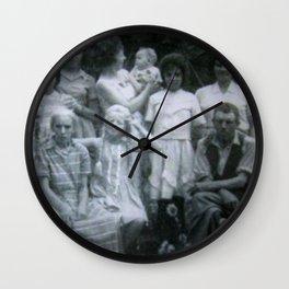 Minha Familia Wall Clock