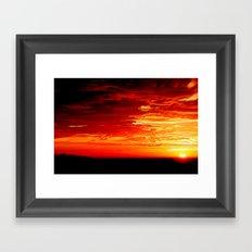 Walu Framed Art Print