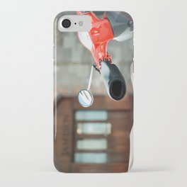 Red Vespa in Dublin iPhone Case