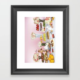 Pastry Party  Framed Art Print