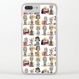 Friends Forever Clear iPhone Case