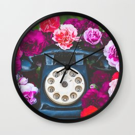 Pretty Please Wall Clock
