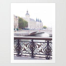 Paris Ile de la Cite Art Print