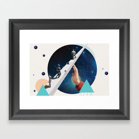 Time's Arrow Framed Art Print