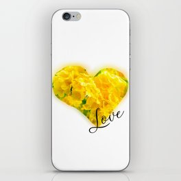 Flower Love iPhone Skin