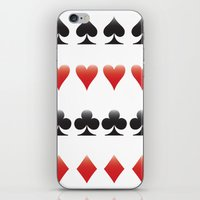 suits iPhone & iPod Skins featuring Suits by doodletome