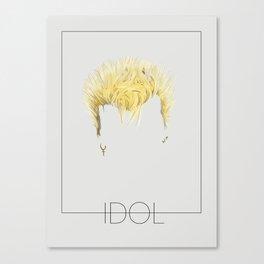 Iconic Hair - Billy Idol Canvas Print