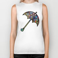 mary poppins Biker Tanks featuring Mary Poppins by Ilse S