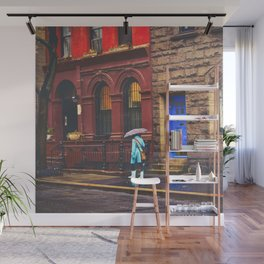 New York City Rainy Afternoon Wall Mural