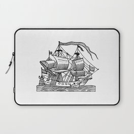 Ship Barco Bateau Schiff лодка Laptop Sleeve