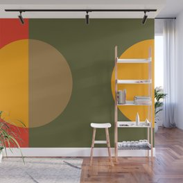 Spring- Pantone Warm color Wall Mural