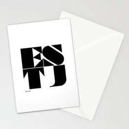 Type Type for ESTJ Stationery Cards
