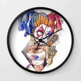 """""""Sorry Batsy!"""" Wall Clock"""