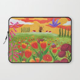 Flowers field Laptop Sleeve