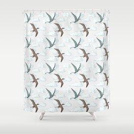 SKY DINOS Shower Curtain