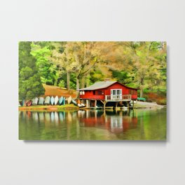The Lake House Metal Print