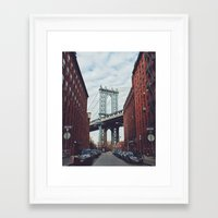 dumbo Framed Art Prints featuring Dumbo by Dukenny