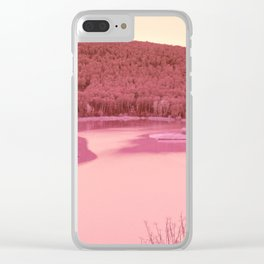 Nature went swimming VII Clear iPhone Case