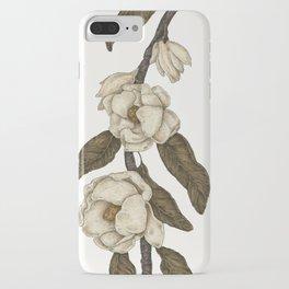 Magnolias Branch iPhone Case
