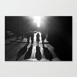 The Four Shadows Canvas Print