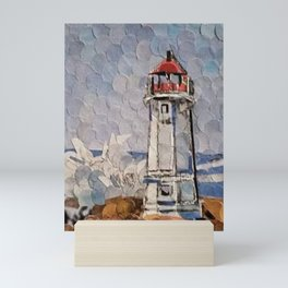 """ Lighthouse "" Mini Art Print"