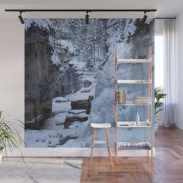Ice Canyon in Canada Wall Mural