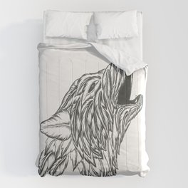 Feather Wolf Comforters