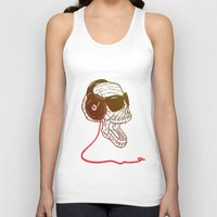 sound Tank Tops featuring Sound by Kier-James