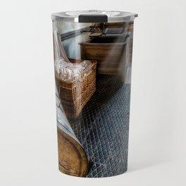 Vintage Laundry Room Travel Mug