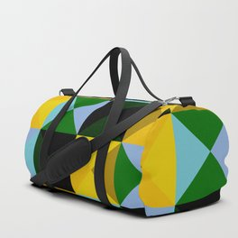 timeless geometrical Ojancanu Duffle Bag