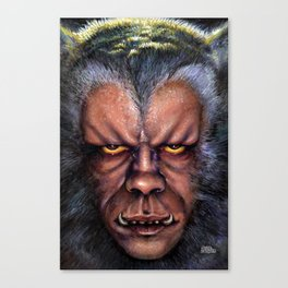 The Werewolf Curse Canvas Print