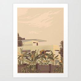 Cambodian Modernism Art Print
