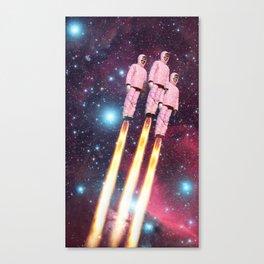 Pink Rockets Canvas Print