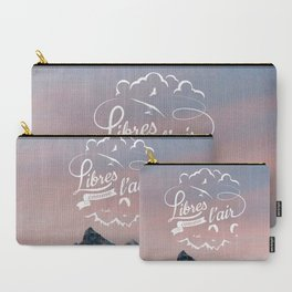 Free as a bird - Libres comme l'air Carry-All Pouch