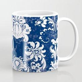 navy and white breeze Coffee Mug