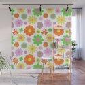 Vintage Daisy Crazy Floral by elliottdesignfactory