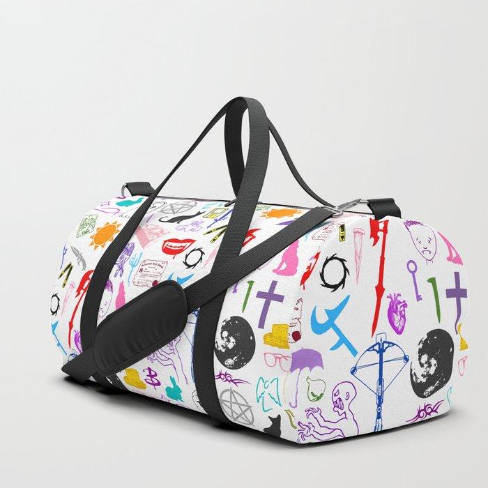 Buffy Symbology, Multi-color / Rainbow / PRIDE! Duffle Bag