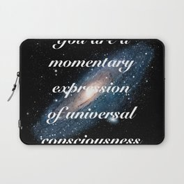 Momentary Expression of Universal Consciousness Laptop Sleeve