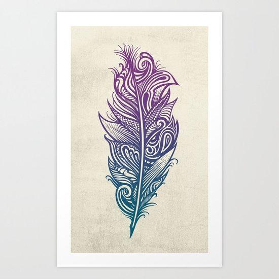 Supreme Plumage Art Print
