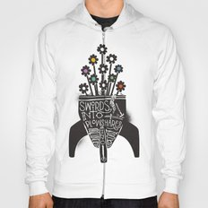 Swords Into Plowshares Hoody