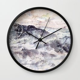 Arrangement In Blue And Silver The Great Sea By James Mcneill Whistler | Reproduction Wall Clock