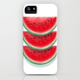 Slices of watermelon iPhone Case