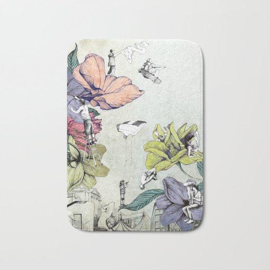 Flower forest Bath Mat
