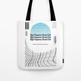 High Frequency Social Club Tote Bag