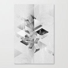 geometric woman III Canvas Print