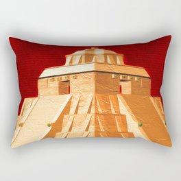 Mayan Pyramid Close Rectangular Pillow